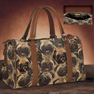 Bradford Exchange Pug Satchel